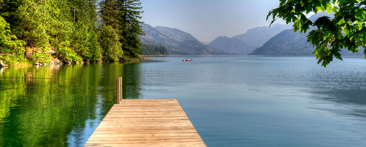 Dock on Lake Chelan | North Cascades Lodge at Stehekin