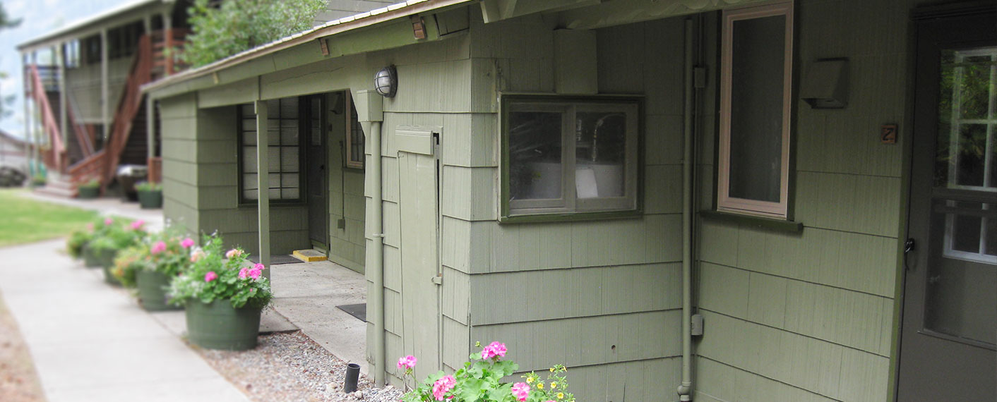 Exterior of Unit | North Cascades Lodge at Stehekin