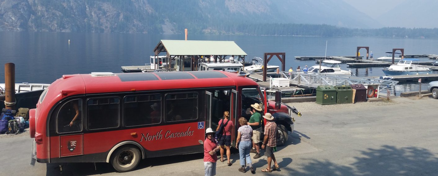 Ride the Red Bus | North Cascades Lodge at Stehekin