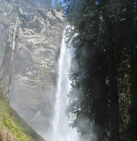 Waterfall Near North Cascades Lodge