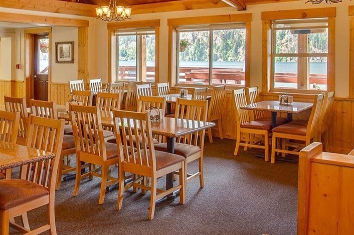 Restaurant Interior | North Cascades Lodge at Stehekin
